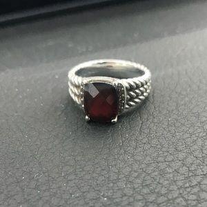 David Yurman Petite Wheaton Ring Size 7